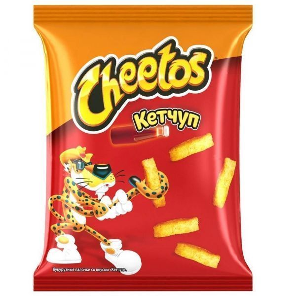 Кукурузные палочки Читос кетчуп пак.