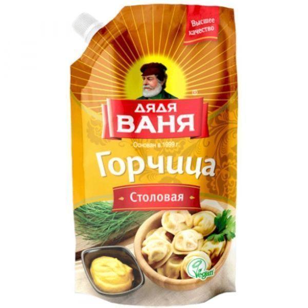 Горчица Дядя Ваня Столовая дой-пак