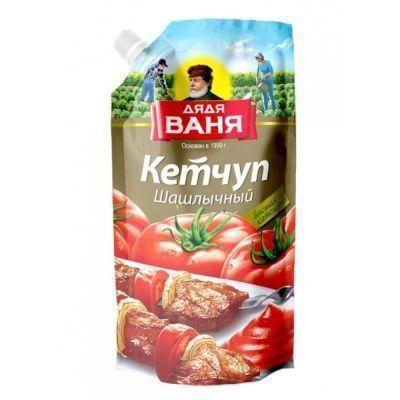 Кетчуп Дядя Ваня Шашлычный дой-пак