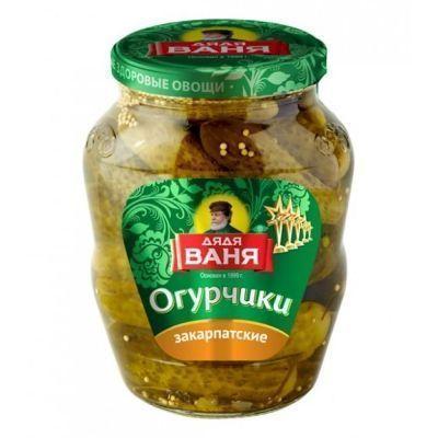 Огурцы Дядя Ваня огурчики закарпатские с/б