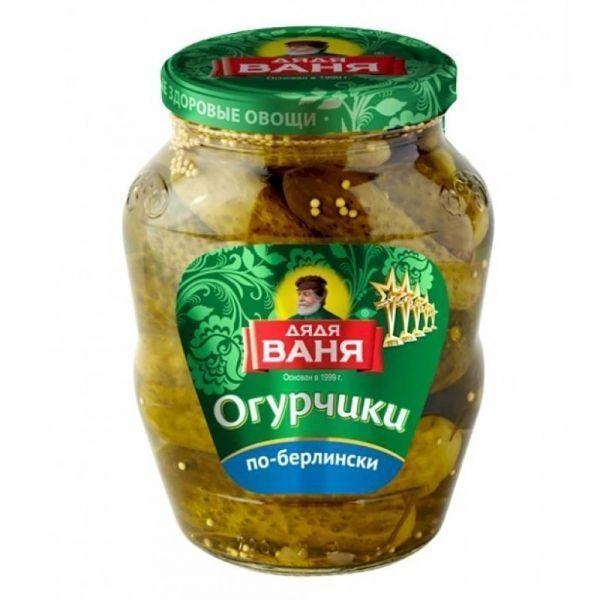 Огурцы Дядя Ваня огурчики по-берлински с/б