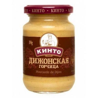 Горчица «Кинто» Дижонская с/б