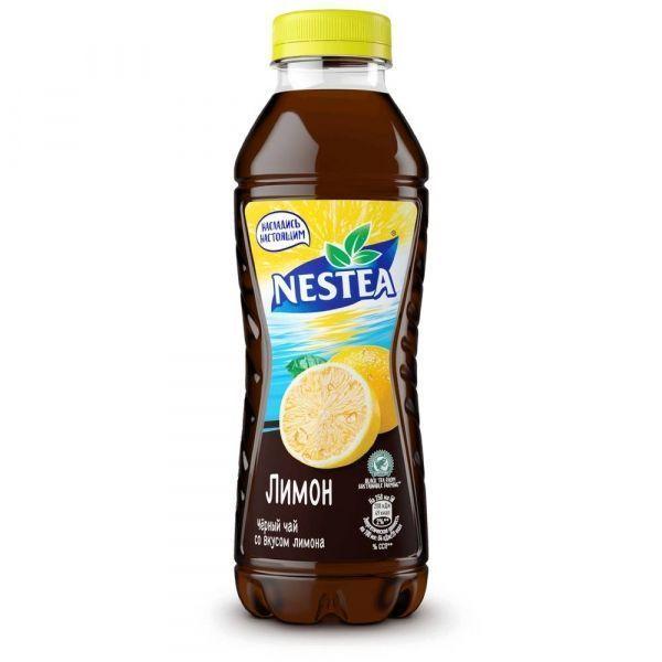 Холодный чай Nestea черный Лимон ПЭТ