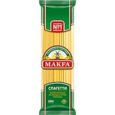 Вермишель длинная Макфа (спагетти) 30% в подарок