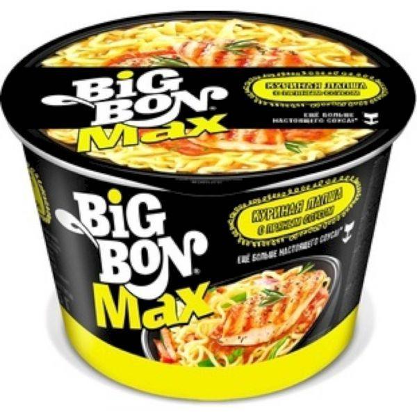 Лапша Big Bon Max курица (стак)
