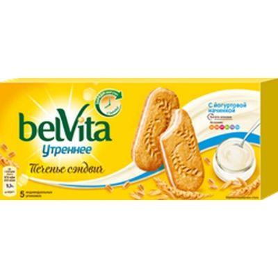 Печенье BelVita 'Утреннее' сэндвич с йогуртовой начинкой