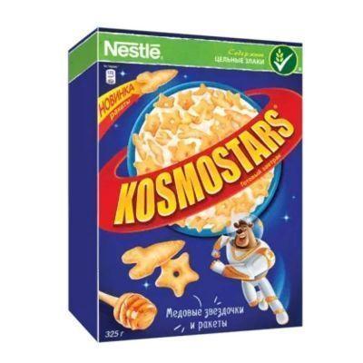 Готовый завтрак Kosmostars Мёд Звёздочки и ракеты