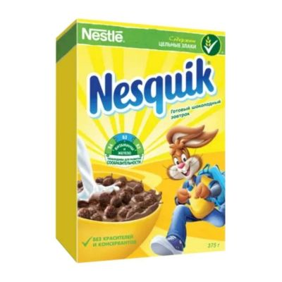 Готовый завтрак Nesquik шоколадный шарики