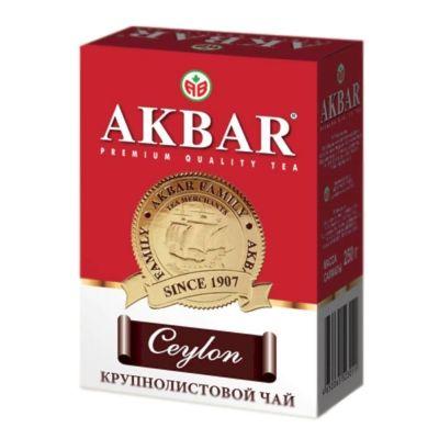 Чай черный Акбар Цейлонский Крупнолистовой