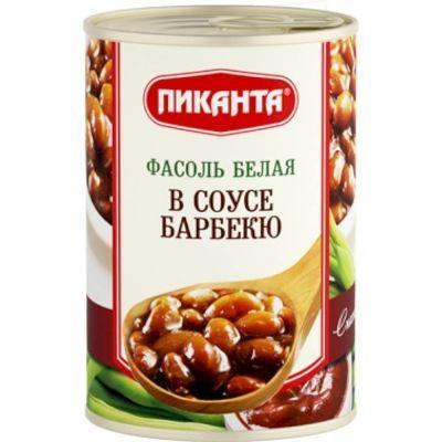 Фасоль Пиканта белая в соусе барбекю