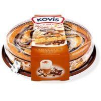 Пирог бисквитный Kovis Каталонский латте шоколадно-карамельный