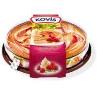 Пирог бисквитный Kovis Каталонский малина со сливочным кремом