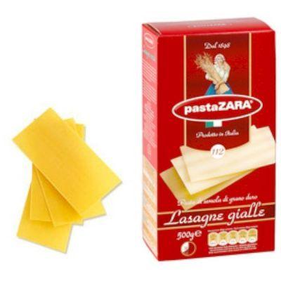 Макаронные изделия Pasta Zara Лазанья №112