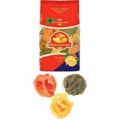 Макаронные изделия Шебекинские №500.5 Гнезда 'три цвета'