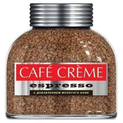Кофе Cafe Creme Espresso растворимый в кристаллах с/б