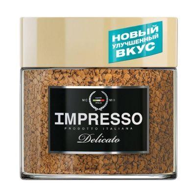 Кофе Impresso Delicato растворимый в кристаллах с/б
