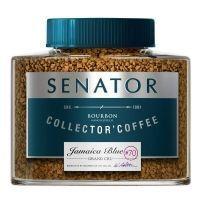 Кофе Senator Jamaica Blue растворимый в кристаллах с/б