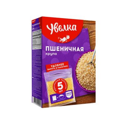 Крупа пшеничная Увелка в пакетиках