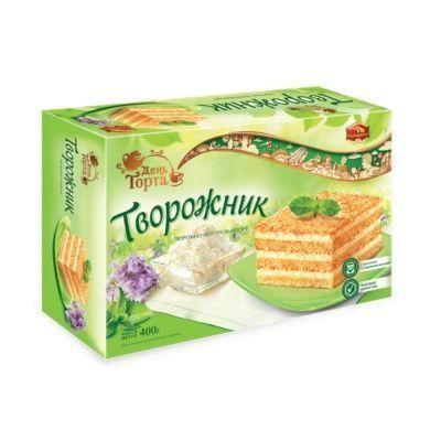 Торт Черёмушки 'Творожник'