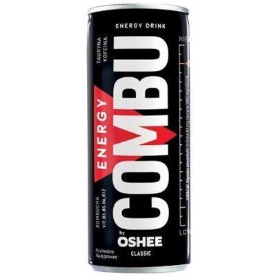 Напиток газированный энергетический Combu Energy Drink Classic с добавлением витаминов и комбуча