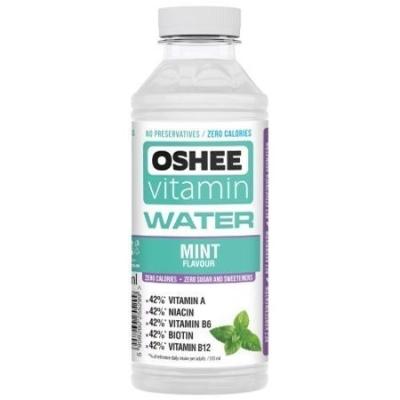 Напиток негазированный Oshee Vitamin Water Mint со вкусом мяты