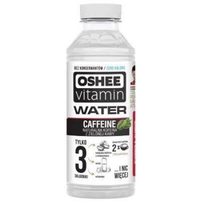 Напиток негазированный Caffeine Water O By Oshee с добавлением натурального кофеина и витаминов