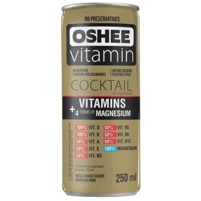 Напиток газированный Oshee Vitamin Coctail