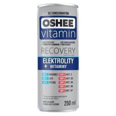 Напиток газированный Oshee Recovery Electrolity