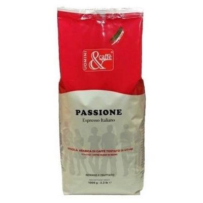 Кофе в зернах Uomini & Caffe Passione 100% арабика
