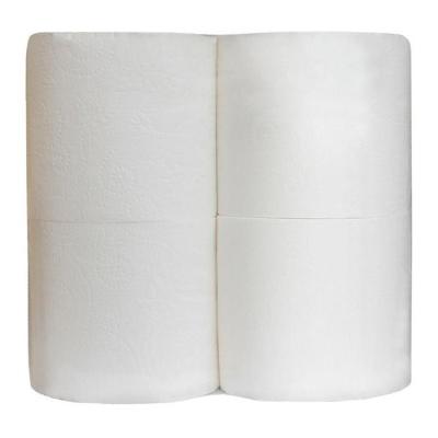 Туалетная бумага в безликой упаковке 17,5м 2 слоя 4 рулона белая