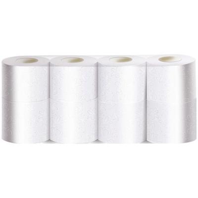 Туалетная бумага в безликой упаковке 23м 2 слоя 8 рулонов белая
