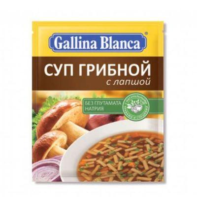 Суп Gallina Blanca Грибной с лапшой