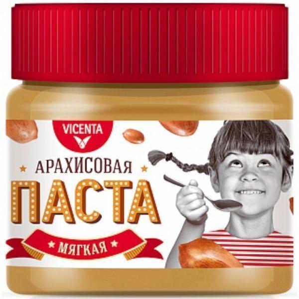 Паста Vicenta арахисовая мягкая