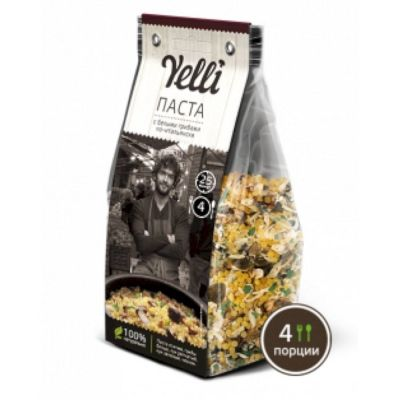 Паста с белыми грибами по-итальянски Yelli