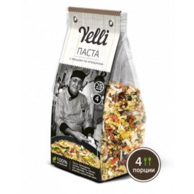 Паста с овощами по-итальянски Yelli