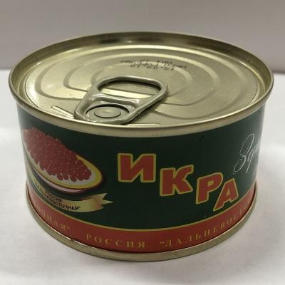 Икра красная лососевая горбуша Русский Рыбный мир 'Дальневосточная' ТУ ж/б