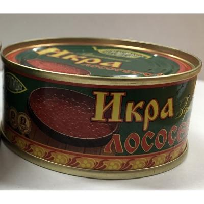 Икра красная лососевая горбуша Русский Рыбный мир 'Рыбпромпродукт' ТУ ж/б