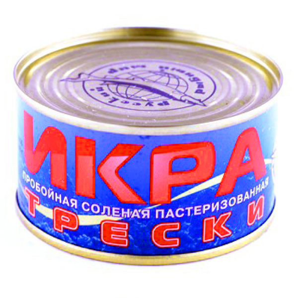 Икра трески Русский Рыбный мир ж/б