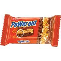 Бисквит шоколадный Saray Powernut покрытый молочным шоколадом с прослойкой из орехов и мягкой карамели