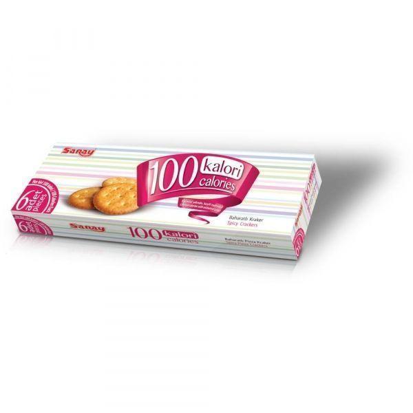 Крекер Saray 100 Calories Лёгкий хрустящий пряный