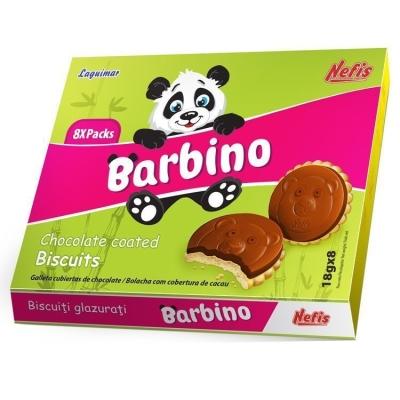 Печенье затяжное Nefis Барбино (Barbino) с ванильным ароматом глазированное