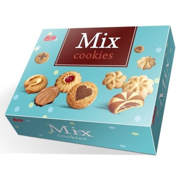 Печенье сдобное Nefis Ассорти (Mix Cookies)