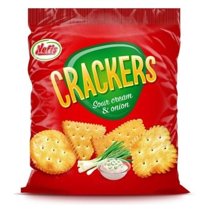 Крекер Nefis Crackers со сметаной и луком