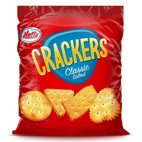 Крекер Nefis Crackers с солью