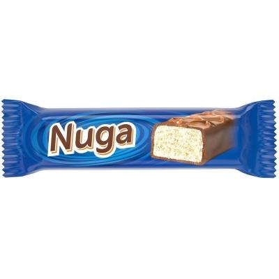 Батончик Nefis Нуга (Nuga) с молочной нугой глазированный