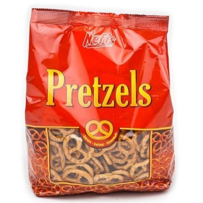Крендельки Nefis Pretzel соленые