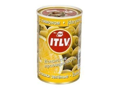 Оливки 'ITLV' с лимоном