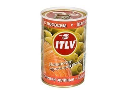 Оливки 'ITLV' с лососем