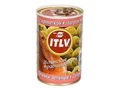 Оливки 'ITLV' с креветками