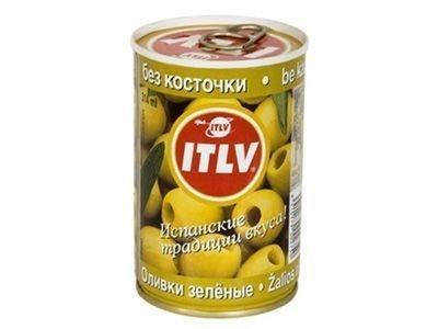 Оливки 'ITLV' без косточки